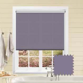 Purple Roller Blind - Astral Amparo
